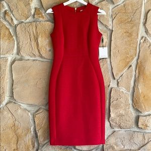 Calvin Klein Red Dress with a hint of sparkle